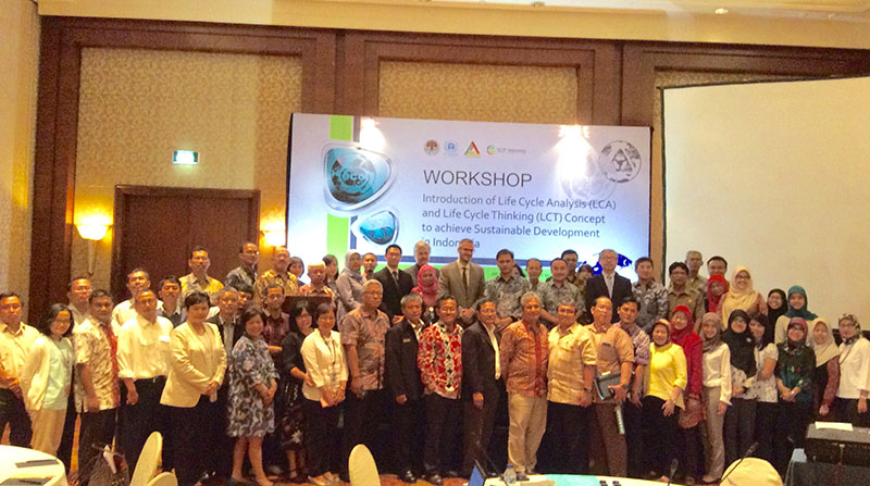 "ILCAN ikut serta dalam ""Workshop on Development of Life Cycle Thinking and Life Cycle Analysis to Achieve Sustainable Development in Indonesia"""